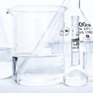 Chemische Behälter mit Ammoniak