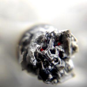 Nikotin in der Zigarette