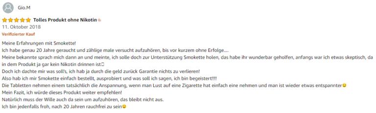 Smokette Test