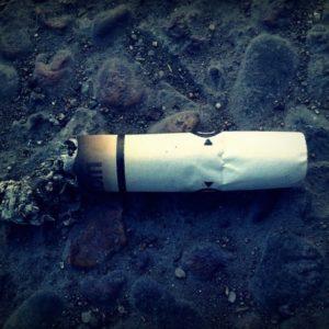 Zigarette Teer