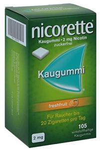 Nikotinkaugummi Produktbild